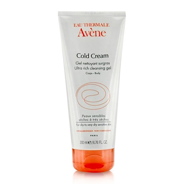 Sữa rửa mặt Avene Cold Cream Ultra Rich Cleansing Gel