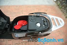 Bình xăng đặt dưới cốp xe
