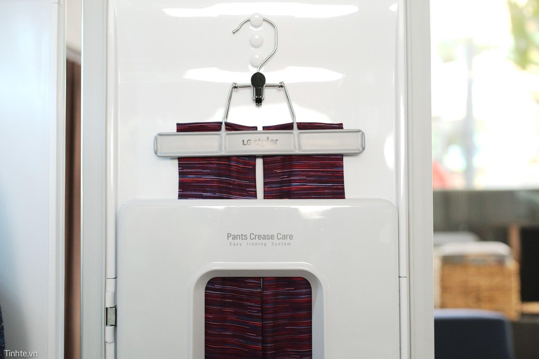 Cận cảnh tủ quần áo thông minh LG Styler