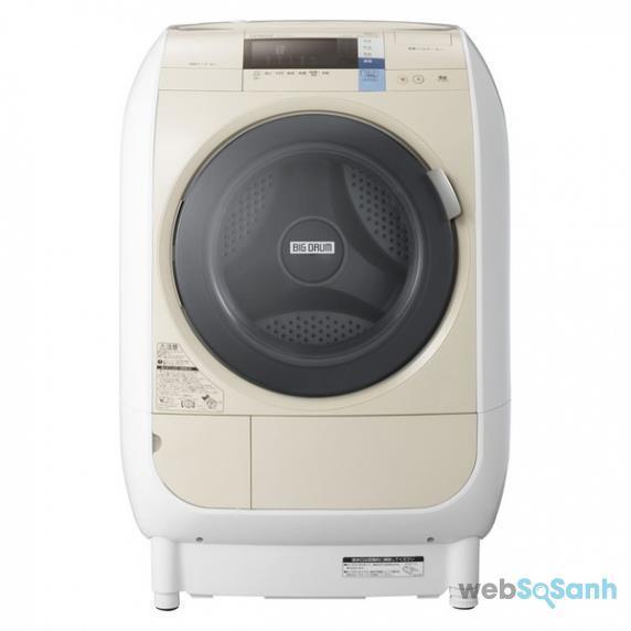 Máy giặt sấy 9kg HITACHI BD-V3600L