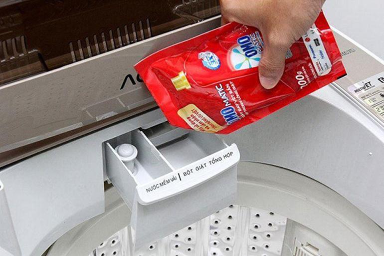 Chọn loại bột giặt cho phù hợp