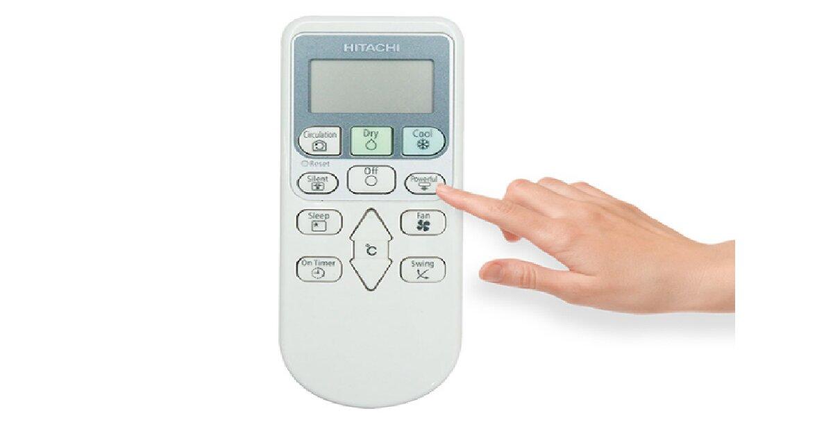 Hướng dẫn cách sử dụng điều hòa Hitachi 1 chiều
