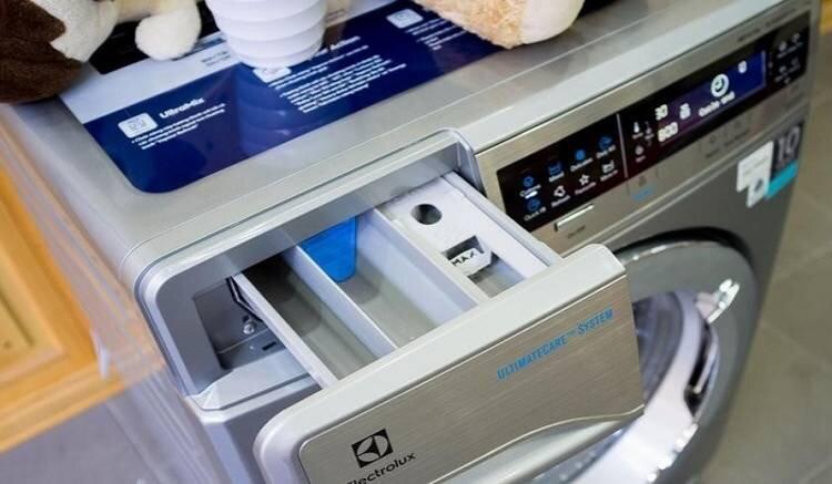 Bảng điều khiển máy giặt Electrolux