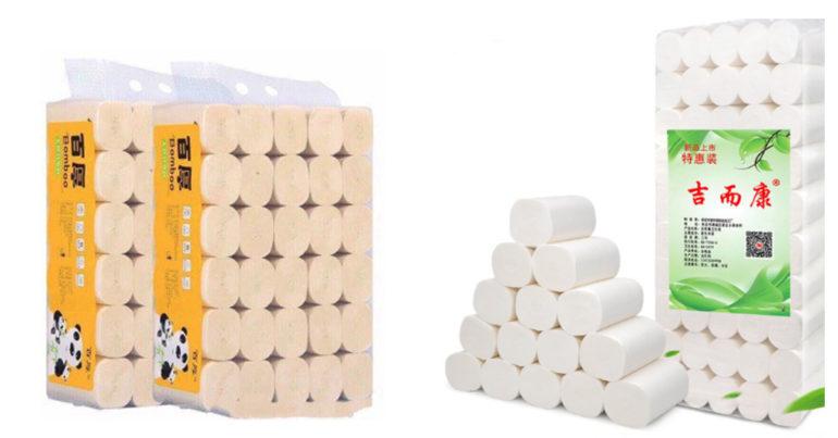 Giấy vệ sinh gấu trúc Sipiao có tốt không ? Giá bao nhiêu một cuộn và bịch ?