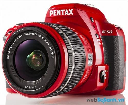 Pentax K-50: máy ảnh DSLR tầm trung bền bỉ và mạnh mẽ