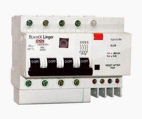 Phân biệt giữa cầu giao CB và thiết bị chống giật ELCB trên bình nóng lạnh