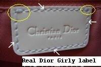 Phân biệt túi Dior chính hãng và túi Dior fake