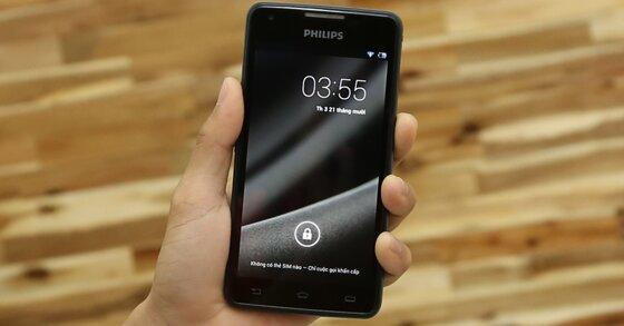 Philips Xenium W6610: Điện thoại giải trí pin trâu lâu nhất nhì thị trường