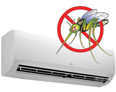 Phòng có máy lạnh điều hòa không có muỗi nên không cần mắc màn?