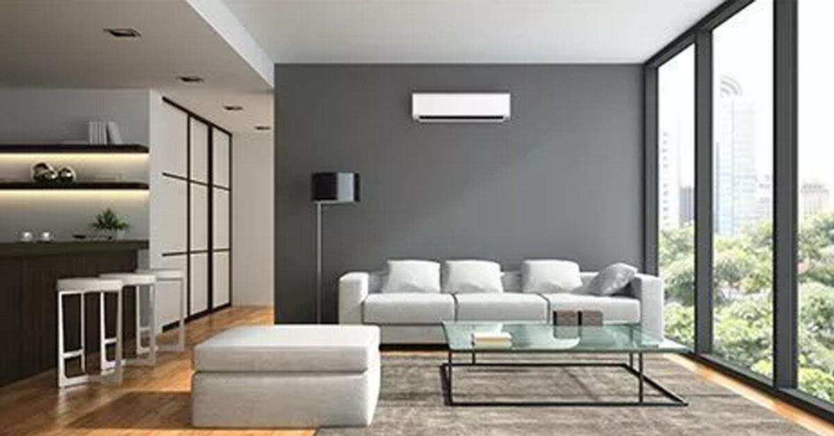 Phòng khách với diện tích 20m2 sử dụng điều hòa gì ?