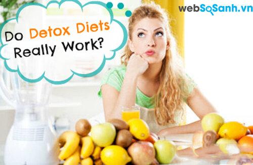 Phương pháp giảm cân Detox – Liệu bạn có nên áp dụng?