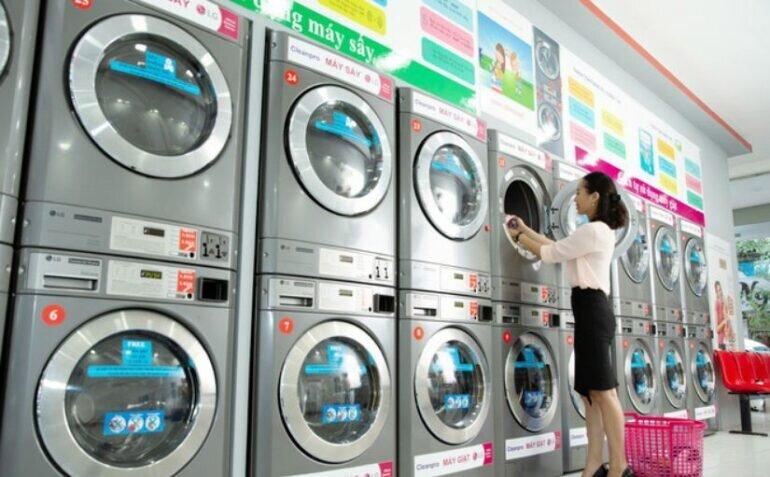 Máy giặt công nghiệp LG