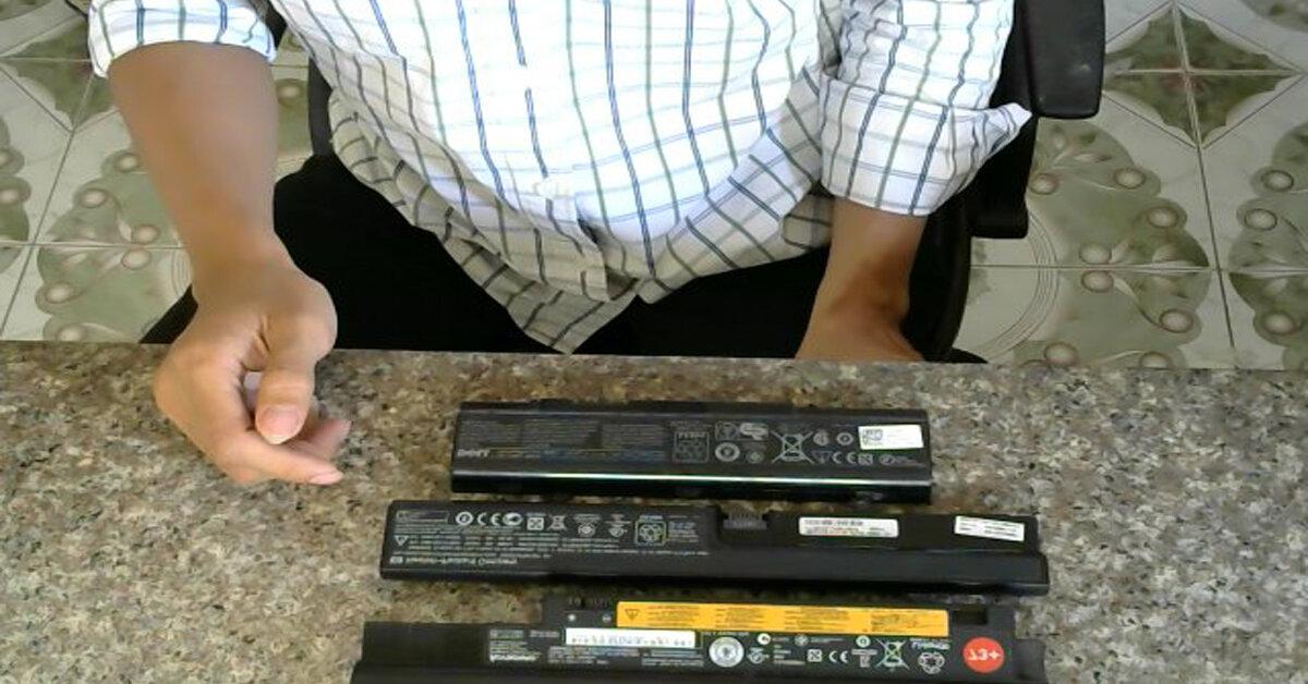 Pin Laptop có những loại nào? Nên mua mới hay phục hồi pin cũ ?