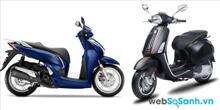 So sánh Honda SH 2015 và Piaggio Vespa Sprint 2015