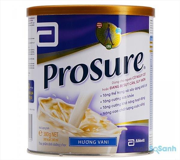 Prosure – sữa công thức giàu protein cho bệnh nhân ung thư