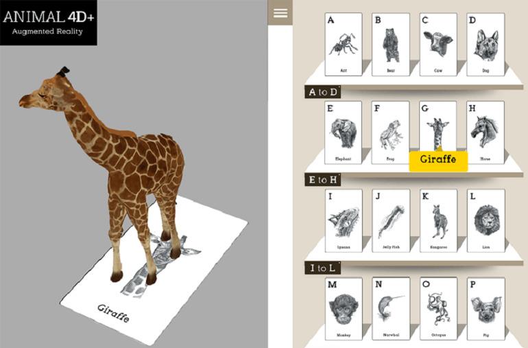 Hướng dẫn cách cài đặt ứng dụng công nghệ Animal 4D