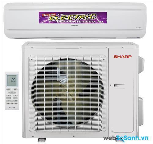 Điều hòa máy lạnh Sharp là dòng điều hòa bền bỉ, làm lạnh tốt và tiết kiệm điện