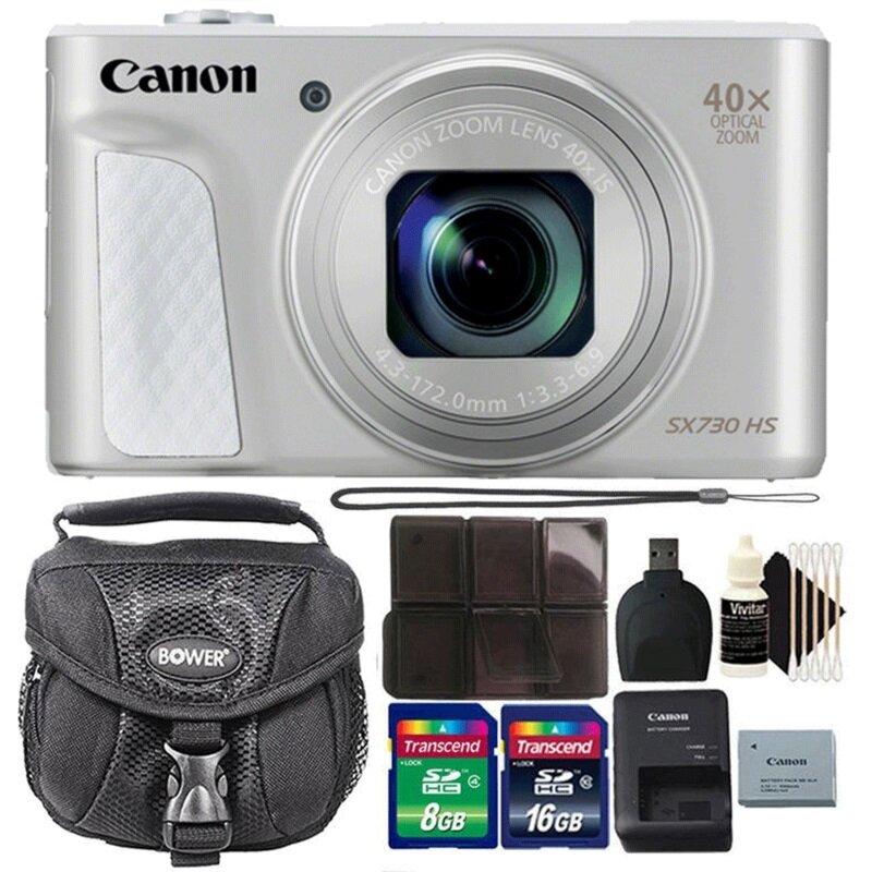 Canon PowerShot SX730 HS có khả năng Zoom đến 40x