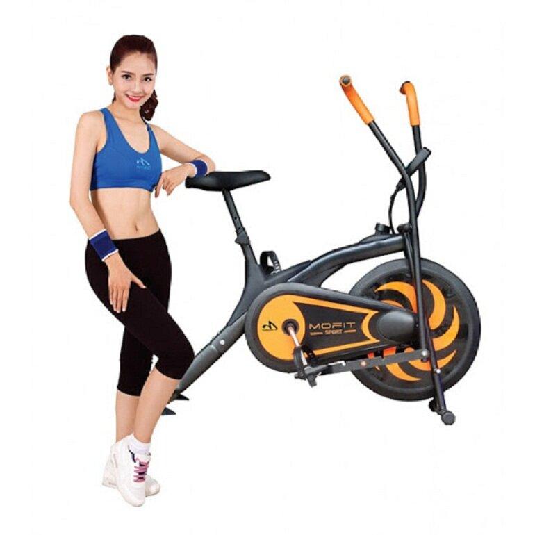 Xe đạp tập thể dục Mofit là thương hiệu nổi tiếng của Việt Nam