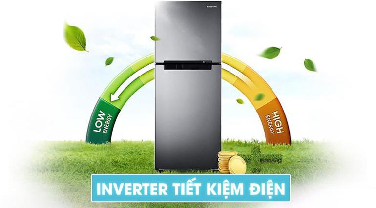 Tủ lạnh Samsung 208 lít RT19M300BGS/SV sử dụng công nghệ inverter