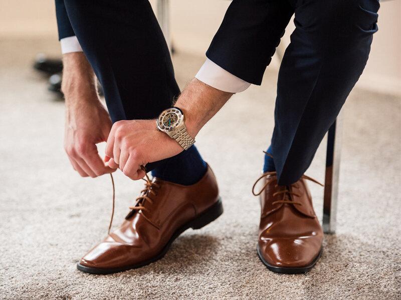 Giày tây đa dạng, phong phú các kiểu dáng và màu sắc