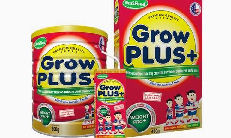 Grow Plus đỏ là sữa bột công thức cho trẻ trên 1 tuổi được nghiên cứu bởi các chuyên gia dinh dưỡng hàng đầu của NutiFood.