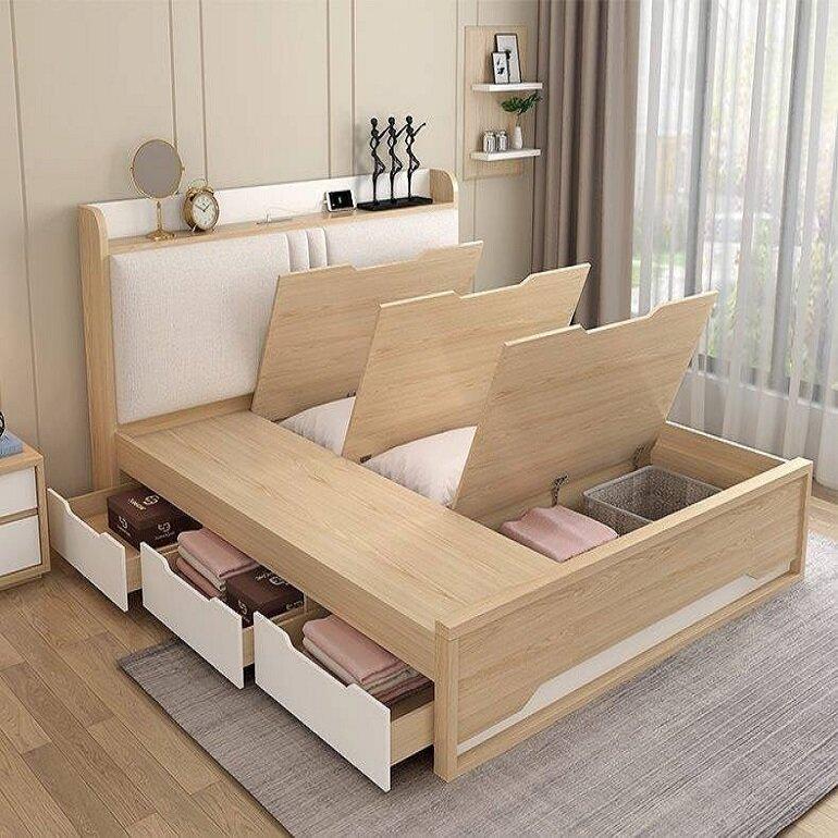 giường ngủ với nhiều chức năng