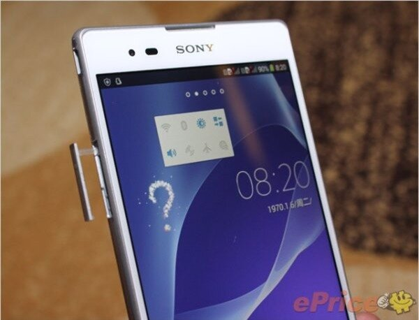 Cận cảnh Sony Xperia T2 Ultra 5