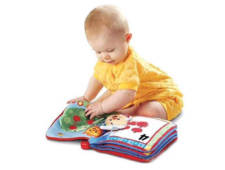 Sách vải rất bền cho bé có thể chơi thoải mái