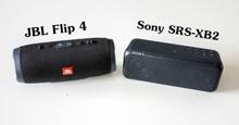 So sánh hai chiếc loa bluetooth JBL Flip 4 và Sony SRS-XB2