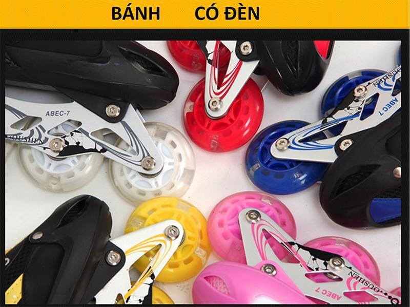 Giày có nhiều màu sắc khác nhau để bé tự chọn theo sở thích