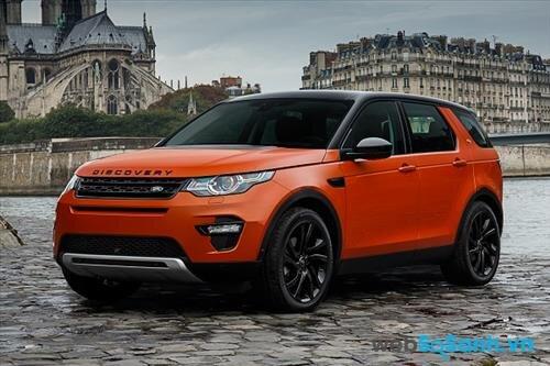 Mua xe ô tô nào an toàn nhất hiện nay: xe ô tô Land Rover Discovery Sport