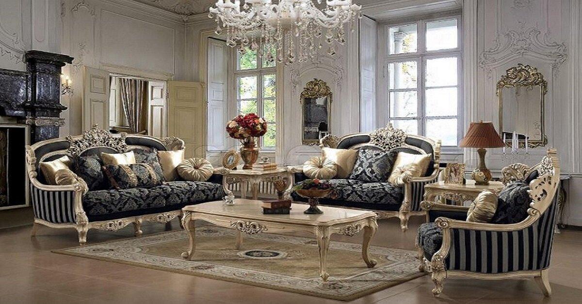 không gian sang trọng của nội thất cổ điển