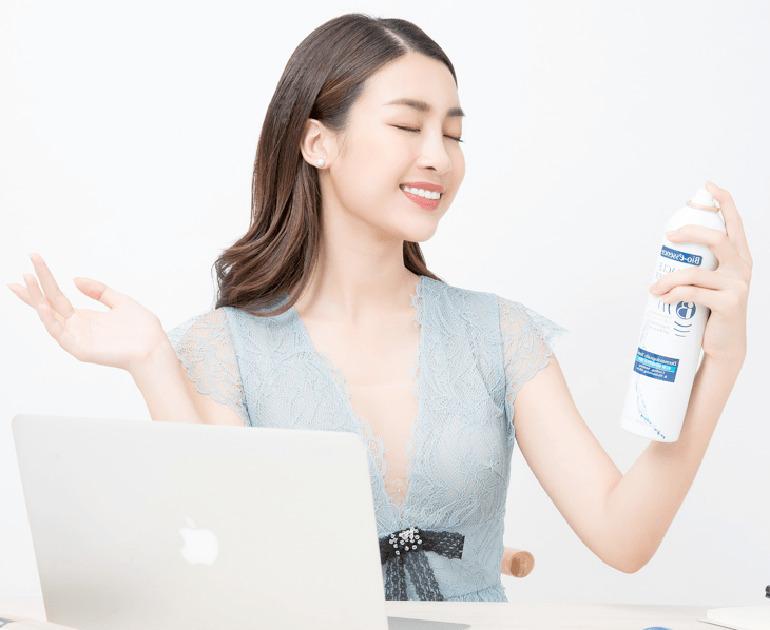 Xịt khoáng có tác dụng dưỡng ẩm cho da