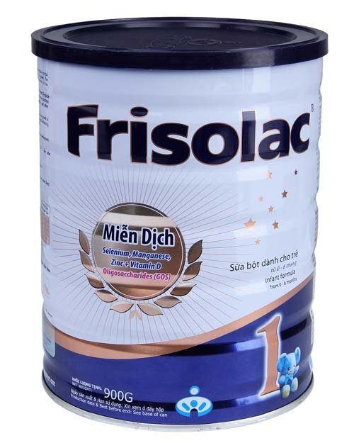 Sữa bột Frisolac Gold 1 - hộp 900g (dành cho trẻ từ 0 - 6 tháng)