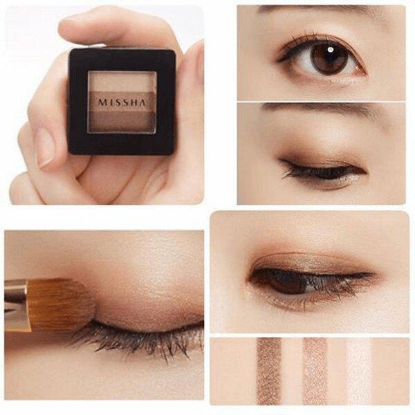 Phấn mắt Missha The Style Triple Perfection Shadow Hàn Quốc