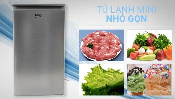 Tủ lạnhBeko 90 lít RS9050P