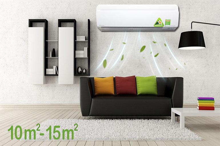 Điều hòa Daikin 8500 BTU FTKS25GVMV thiết kế độc đáo sang trọng thu hút mọi ánh nhìn