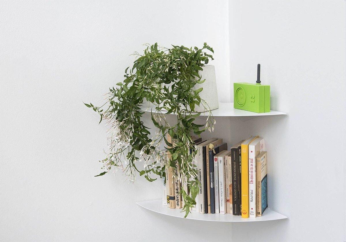 Kệ góc treo tường SMlife - Giải pháp thông minh cho ngôi nhà hiện đại