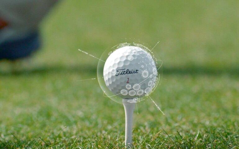 Bóng golf Titleist là thương hiệu nổi tiếng của Mỹ