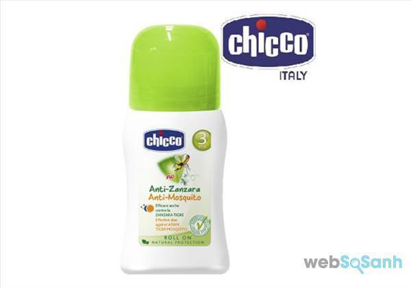 Kem chống muỗi Chicco có mấy loại ?