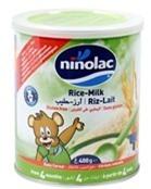 Bột ăn dặm Ninolac Rice Milk (Gạo Sữa) - 400g