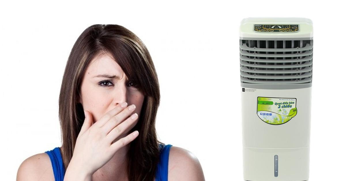 Quạt điều hòa có mùi tanh hôi là bị làm sao? | websosanh.vn