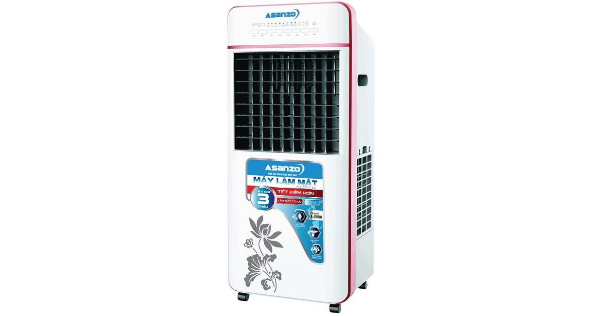 Quạt điều hòa không khí giá rẻ Asanzo A2500 – sự lựa chọn tuyệt vời cho không gian nhỏ