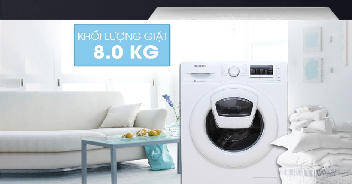 Quên máy giặt LG hay Electrolux đi vì năm nay là năm của Samsung AddWash