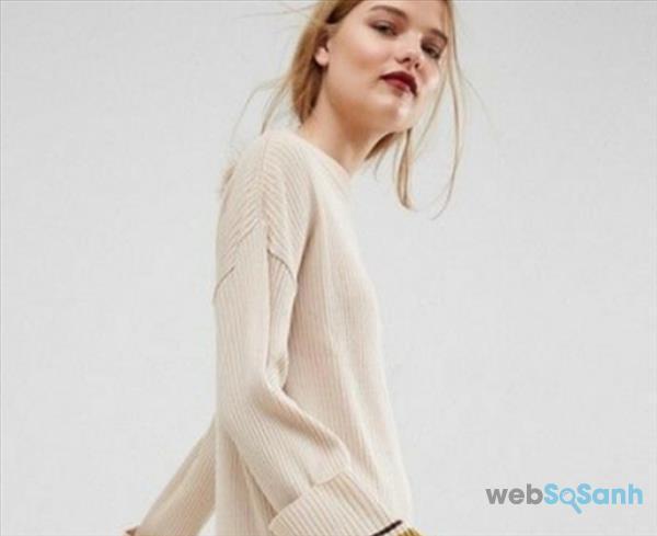 Váy len liền thân - đơn giản, tinh tế mà quyến rũ