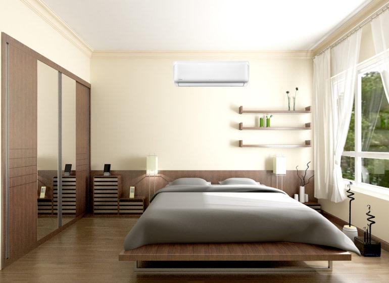 Kinh nghiệm lắp đặt vị trí điều hoà trong phòng ngủ tốt nhất hiện nay
