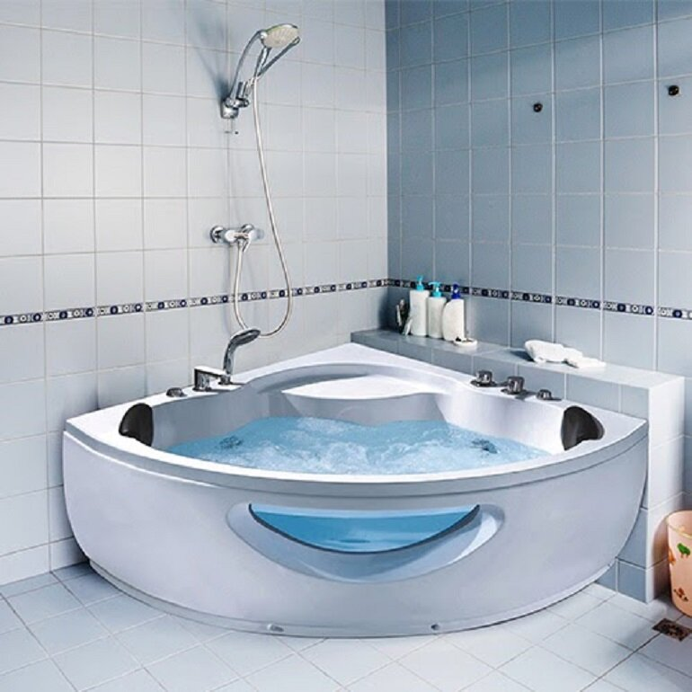 công dụng bồn tắm góc