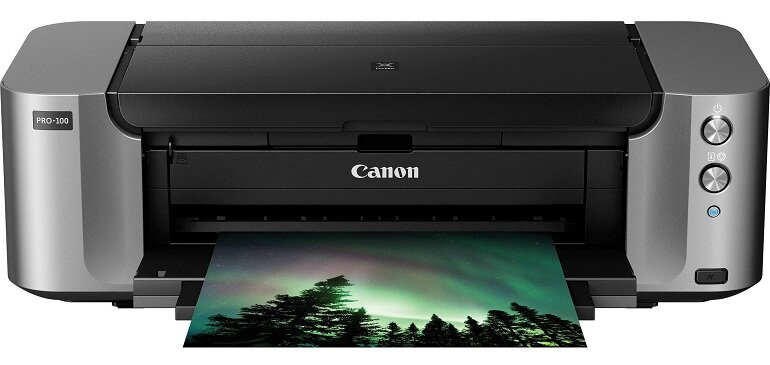 Máy in nhãn Canon Pixma Pro-100