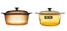 So sánh nồi thủy tinh Visions VSD 5FV với Visions VSD5: Khác biệt về thiết kế